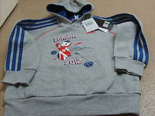 Official adidas London 2012 Olympics Mascot Union Jack Hoodie, Age: 4/5, 5/6 yrs