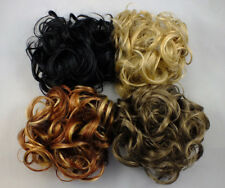 "Scrunchie KATIE 7"" Ex-Large Curly Hair Ponytail Holder Hairpiece COLORS 1 - 26"