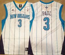 Chris Paul New Orleans Hornets Mens Jersey White #3 NWOT