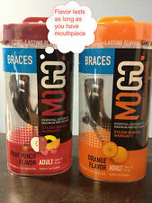 MOGO Braces Flavored Performance Series Mouthguard - Mouthpiece - Football