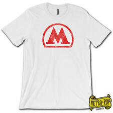 MOSCOW Russian METRO Logo T-Shirt • Super-Soft Cotton Graphic Москва Subway Tee