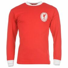 Mens Retro Jersey - Liverpool FC 1964 Long Sleeved Home Shirt -Size S - XXL