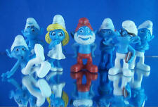 MINI SMURFS FIGURES CUP CAKE TOPPER FAVORS 2011 -  3D MOVIE - YOU PICK ONE (1)