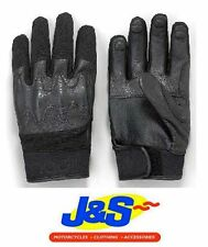 ARMADILLO SUMMER SHORT MOTORCYCLE MOTORBIKE SCOOTER LEATHER MIX GLOVE J&S