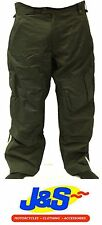 ARMADILLO MEN'S MOTORBIKE MOTORCYCLE SCOOTER WATERPROOF PANTS TROUSERS J&S
