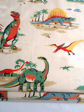 unlined ROMAN BLIND  made in CATH KIDSTON DINOSAUR STONE MTM up to 140cm wide