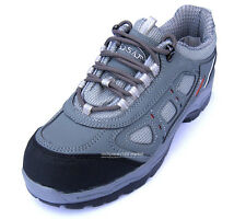 New Mens K2ASF Safety Work Steel Toe Cap Shoes (Made in Korea)