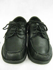 "MENS DR SCHOLL LACE UP SHOES IN BLACK LEATHER ""PAUL"""