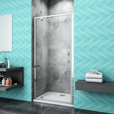 Chrome Pivot Shower Door Walk In Enclosure Glass Cubicle Screen P11
