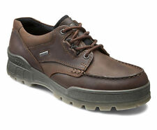 ECCO Track II Mens Casual Hiking Shoes GORE-TEX WATERPROOF Brown Leather