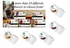 72 count STARBUCKS Bulk Lot wholesale KEURIG K-Cup Single cup Coffee pods NEW