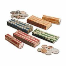 (15) COIN WRAPPERS - Your Choice of denomination or custom mix - flat paper type
