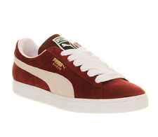 Puma Suede Classic Team Burg/white Trainers Shoes vh8