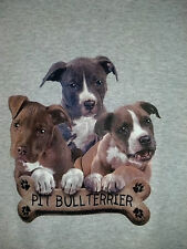 Pit Bull Cute Little Puppies Tee Puppy Dog Lover T-shirt Most Respected Breed