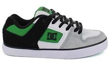 DC Shoes PURE SLIM BLACK EMERALD WHITE chaussures skateboard shoes
