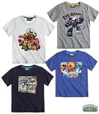 New Boys Skylanders Short Sleeve Skylander Top T-Shirt Age 4-11 Years
