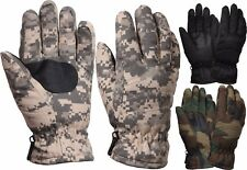 Camouflage Military Thermoblock Tactical Insulated Hunting Gloves