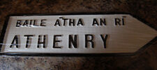 CHOOSE your County GALWAY Irish Town old style ROAD SIGN Handpainted in Ireland