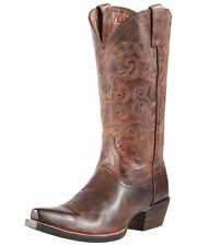Ariat Women's Alabama Leather Cowboy Western Riding Boots Sassy Brown 10010979