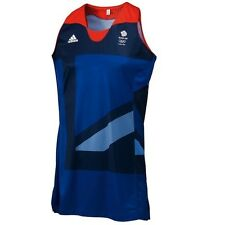 100% Official Adidas Olympics London 2012 Team GB Basketball Men's Jersey
