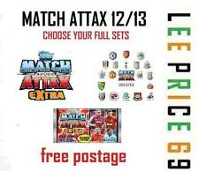 COMPLETE MATCH ATTAX EXTRA 12/13 COLLECTION CHOOSE FULL SETS FROM MENU 2012 2013