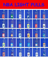 NEW NBA OFFICIALLY LICENSED BASKETBALL METAL LIGHT LAMP FAN PULL QUICK CONNECTOR