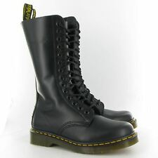 UK 3-12 Dr Martens 1914z Plain Smooth Leather 14 Eyelet Air Wair Docs Boots
