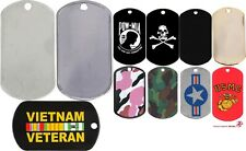 Stainless Steel Dog Tag Stenciled ID Dog Tags