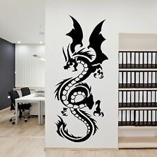 Chinese Large Dragon Animal Wall Decor Art Sticker Home Design Mural Bedroom A22