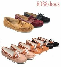 Causal Slip On Round Toe Boat  Moccasin Flat  Sandal Women's Shoes 5.5 - 11 NEW