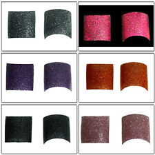 100 Toe Glitter French Acrylic  Nail Tips & Storage Box - 6 Colours Available
