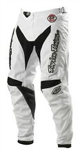NEW TROY LEE DESIGNS TLD GP WHITE-OUT MOTOCROSS MX DIRTBIKE PANTS WHT ALL SIZES