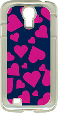 Heart Collage Design on Samsung Galaxy S4 Hard or Rubber Case Cover