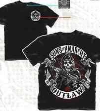 AUTHENTIC SONS OF ANARCHY OUTLAW REAPER SOA SAMCRO T TEE SHIRT S M L XL 2XL 3XL