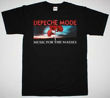 DEPECHE MODE MUSIC FOR THE MASSES NEW WAVE DAVE GAHAN S-XXL NEW BLACK T-SHIRT