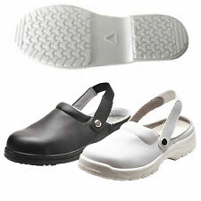 Safety Clog Shoes with Anti Resistant Slip - Shoe for Catering Kitchen Hospital