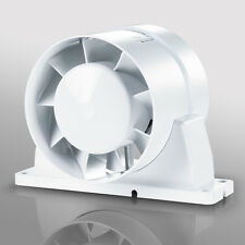 "4 5 6"" In Line Duct, Shower, Bathroom, Wet Room, Hydroponics Extractor Fan Timer"