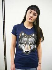 Wildlife Wolf Head T shirt, Wolf  Tee, Wolf Top, Wolves, Animal, Unisex, New
