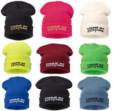 BEANIE HAT Commes  BAD HAIR DAY MEOW LOVER HATS SNOWBOARD SNAPBACK