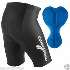 Cycling Shorts Gel Padded Road Bike Cycle Bicycle Black OpenRoad Sports Mens New