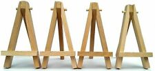 "MINI WOODEN 5"" ARTIST EASEL FOR ARTWORK DISPLAY, TABLE SETTINGS SET, CRAFT, ART"