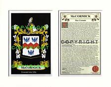 MC CORMICK to MC ELVANY - Your Family Coat of Arms Crest & History