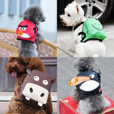 NEW Super Cute Fashion Cartoon Backpack For Small-Medium Dog Puppy