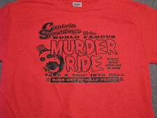captain spaulding murder ride t shirt the devils rejects red zombie cannibal
