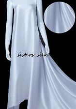 """16mm 100% Pure Silk Fabric Bridal Clothing Sewing Wide 45"""" 30 Colours Sistersilk"""