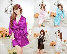 Women Sleepwear  Lace Lacing Sexy Lingerie Nightdress Nightgown Pajamas Tempt