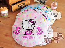 ♥ Cute pink red hello kitty shower cap bath kids women kawaii UK seller ♥