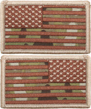 Multicam OCP American US Flag Military Hook Patch