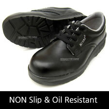 Men's Safety Work Shoes Steel Toe Cap work oil resistant Non-Slip Made in Korea