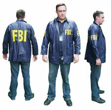 "FBI ""SPECIAL AGENT"" Windbreaker JACKET - Cool Fancy Dress - New - Optional ID"